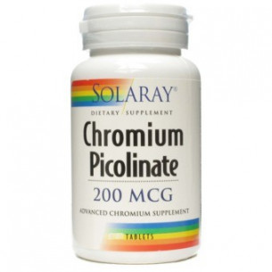 Solaray CHROMIUM PICOLINATE 50 tablets