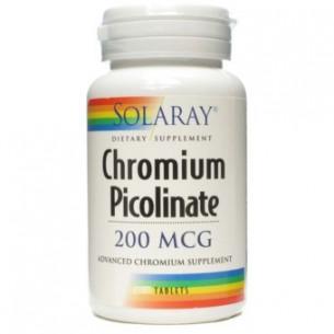 Solaray CHROMIUM PICOLINATO 50 comprimidos
