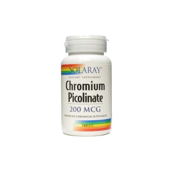 Solaray CHROMIUM PICOLINATE 50 tablets
