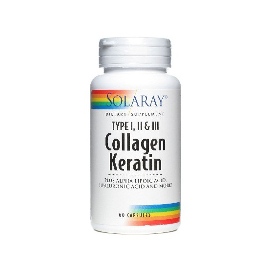 Solaray COLLAGEN KERATIN 60 tablets