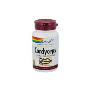 Solaray CORDYCEPS EXT 60 cápsulas