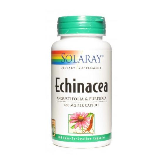 Solaray ECHINACEA (angustifolia/purpurea) 100 cápsulas