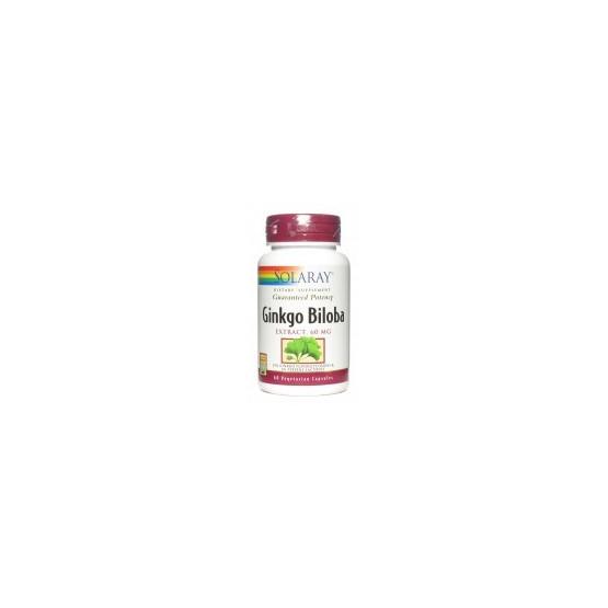 Solaray Ginkgo Biloba 60 capsules
