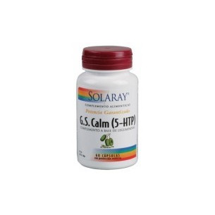 Solaray GS CALM (5-HTP) 60 cápsulas