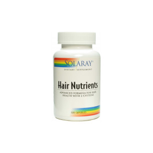 Solaray Hair Nutrients 120 capsules