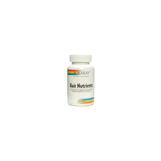 Solaray Hair Nutrients 120 capsules