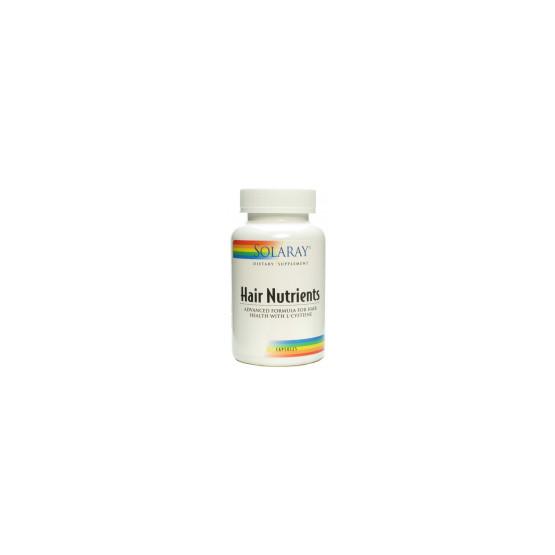 Solaray HAIR NUTRIENTS 60 cápsulas