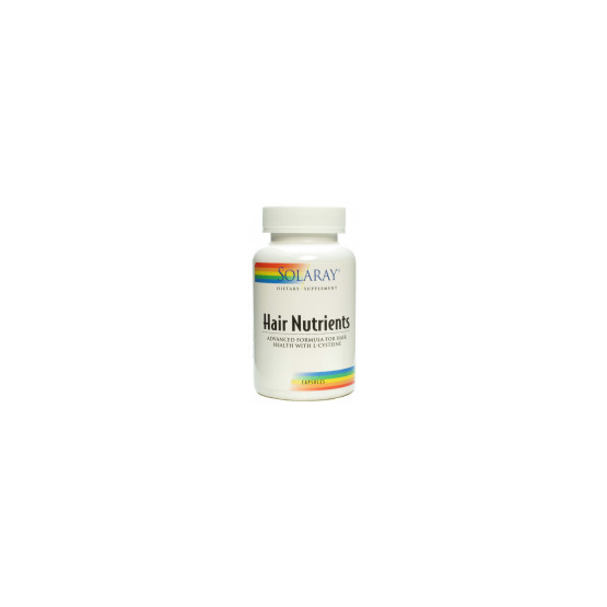 Solaray Hair Nutrients 60 capsules