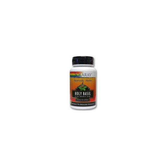 Solaray BASIL HOLLY 60 Capsules