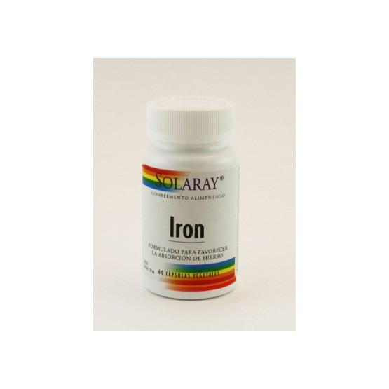 Solaray IRON citrate 60 capsules