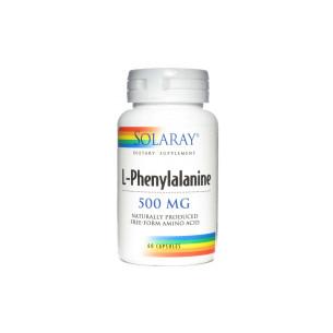 Solaray L-FENILALANINA 60 cápsulas