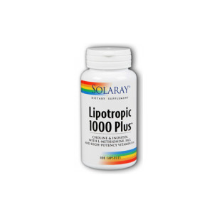 Solaray Lipotropic 1000 Plus 100 capsules