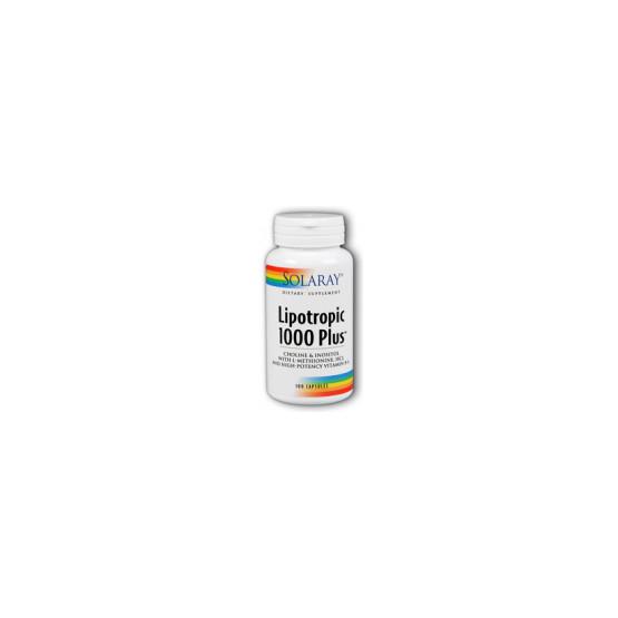 Solaray Lipotropic 1000 Plus 100 capsules