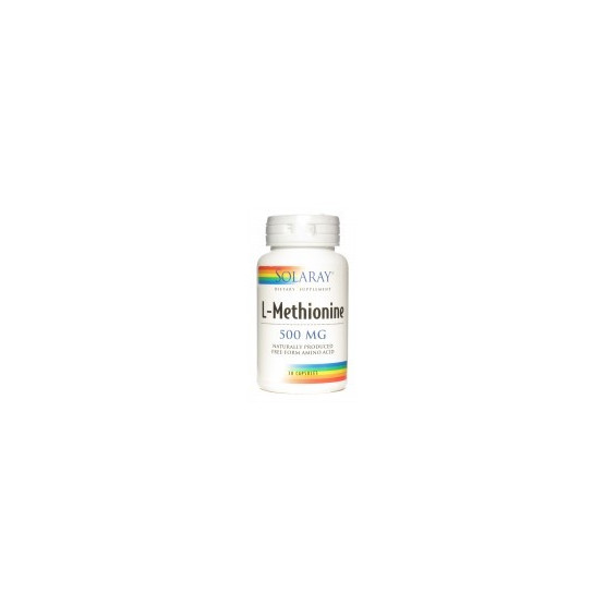 Solaray L-METHIONINE 30 cápsulas