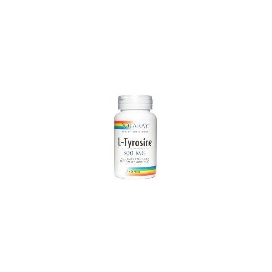 Solaray L-TIROSINA 50 cápsulas