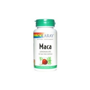 Solaray MACA 100 cápsulas