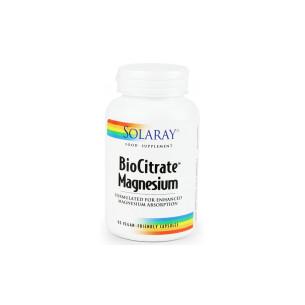 Solaray MAGNESIUM citrato 90 cápsulas