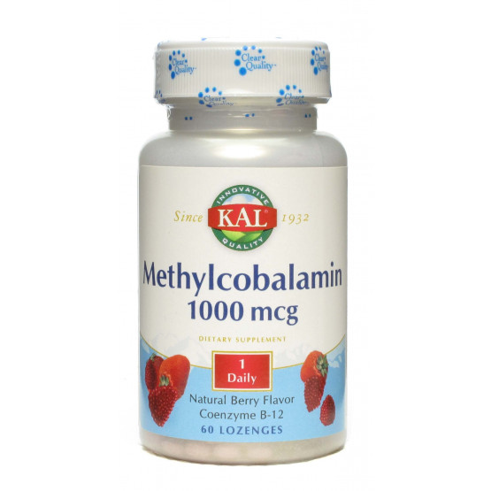 Solaray METHYLCOBALAMIN 60 comprimidos