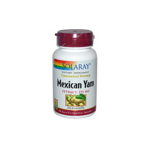 Solaray MEXICAN YAM 60 Capsules