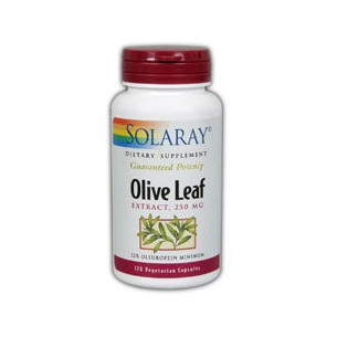 Solaray OLIVE LEAF 30 cápsulas