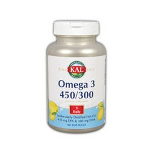 Solaray OMEGA 3 450/300 60 pearls