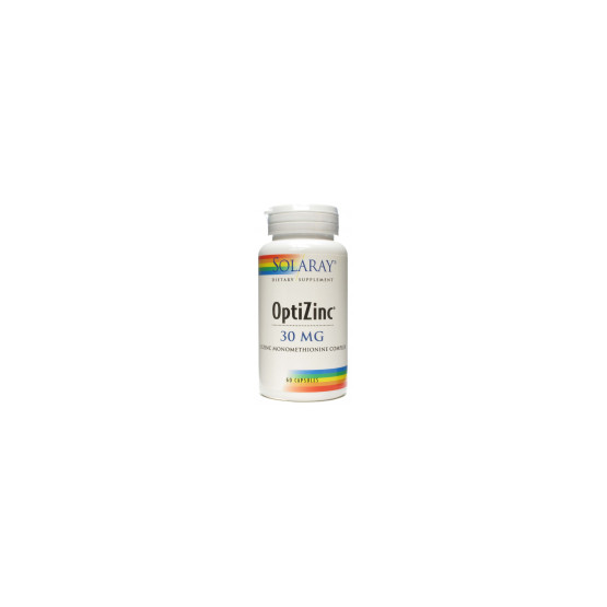 Solaray OptiZinc 60 Capsules