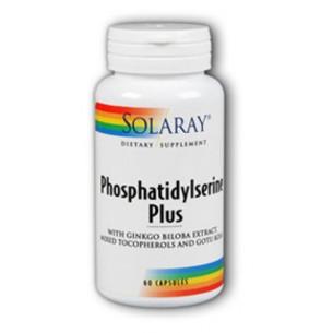 Solaray Phosphatidylserine plus 60 capsules