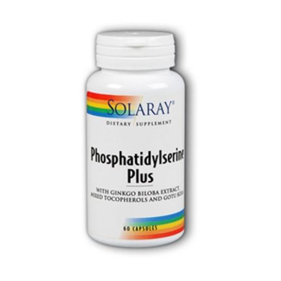 Solaray PHOSPHATIDYLSERINE plus 60 cápsulas