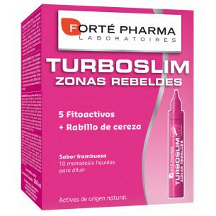 Forte Pharma Turboslim Zonas Rebeldes sabor frambuesa 10 monodosis