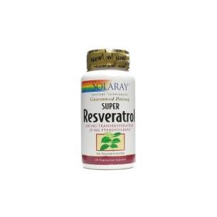 Solaray Super Resveratrol 30 capsules
