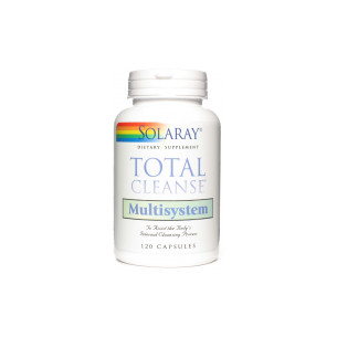 Solaray Total Cleanse MULTISYSTEM 120 capsules