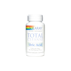 Solaray Total Cleanse URIC ACID 60 Capsules