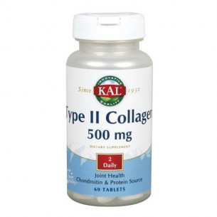 Solaray TYPE II COLLAGEN 60 comprimidos
