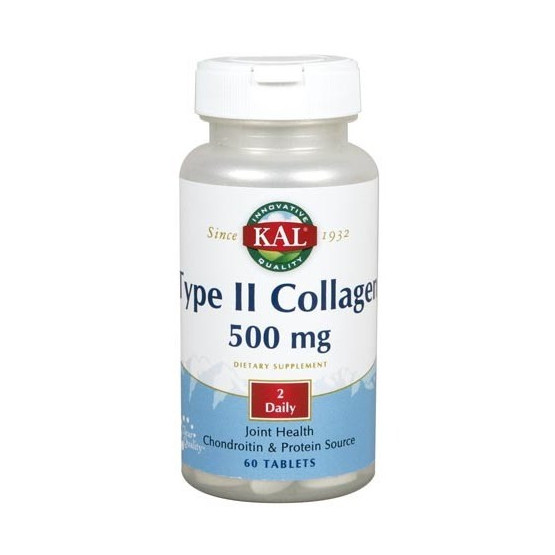 Solaray TYPE II COLLAGEN 60 comprimidos