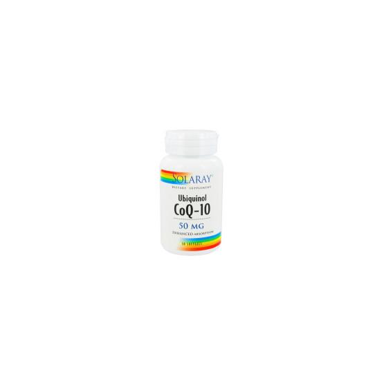 Solaray CoQ10 Ubiquinol 30perlas