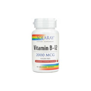 Solaray VIT.B12 90 sublingual tablets