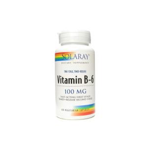 Solaray VIT.B-6 60 capsules