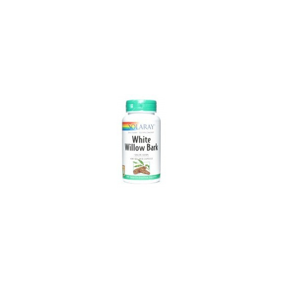 Solaray WHITE WILLOW BARK (Sauce) 100 cápsulas