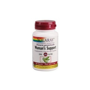 Solaray WOMAN'S SUPPORT 30 Capsules
