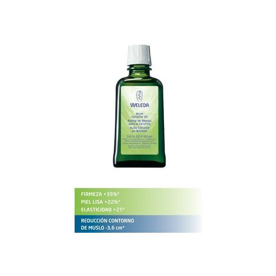 Weleda Aceite de Abedul 100 ml. Acción anticelulítica y reductora