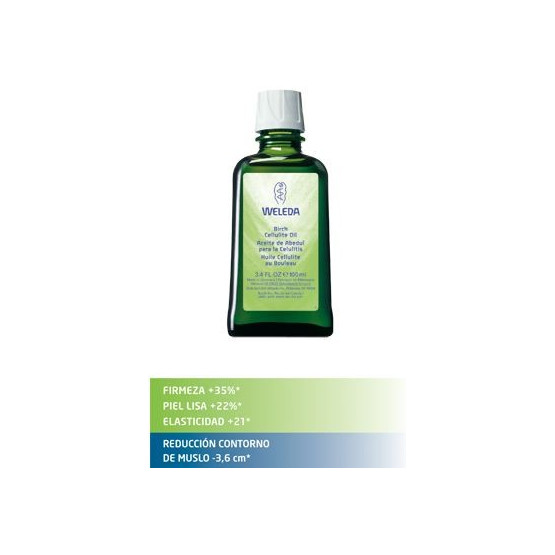 Weleda Birch Oil 100 ml. Action and reducing cellulite.