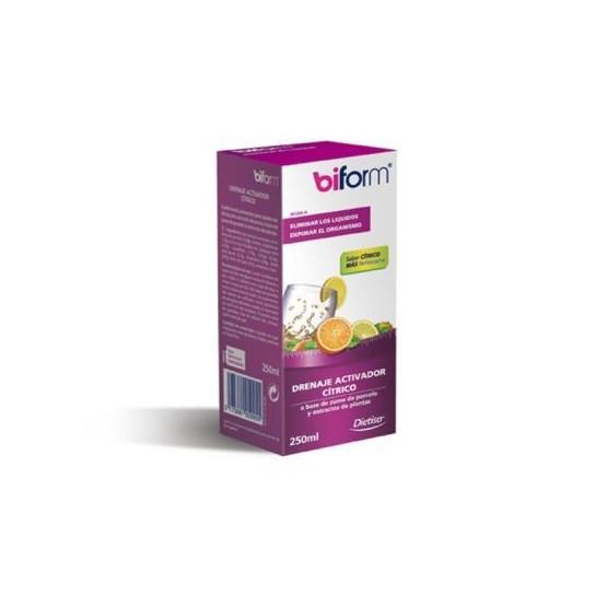 Dietisa BIFORM DRENAJE ACTIVADOR cítrico sin fucus 250 ml.