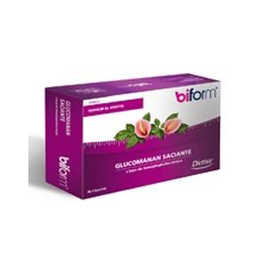 Dietisa BIFORM KONJAX PLUS (GLUCOMANAN SACIANTE) 36 cápsulas
