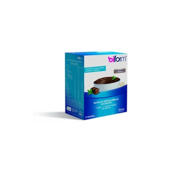 Dietisa BIFORM NATILLAS CHOCOLATE 6 sobres