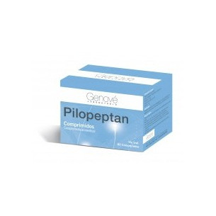 Pilopeptan hair and nails 60 capsules. Genové.