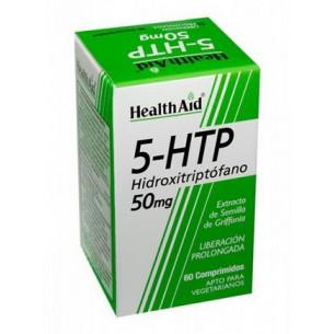 Health Aid 5-HTP (5-Hidroxitriptófano) 50 mg 60 comprimidos