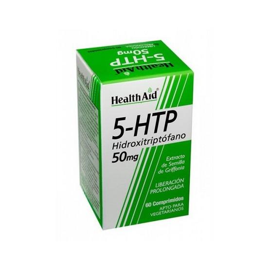 Health Aid 5-HTP (5-Hydroxytryptophan) 50 mg 60 tablets.