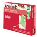 Arkofluido Ginkgo 20 ampollas