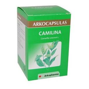 Arkocápsulas Camilina 200 cápsulas. Té verde (Diurético y lipolítico)