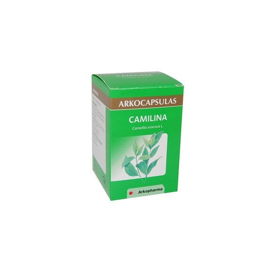 Arkocápsulas Camilina 200 capsules. Green tea (Diuretic and lipolytic)